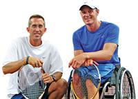 Dan James Left, and Jon Rydberg, Right