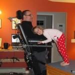 6-year-old and her quadriplegic dad