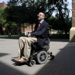 Bob Bell Quadreplegic Professor