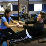 A positive outlook: Special therapy helps man with spinal injury reclaim productive life