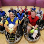 Dorset Destroyers wheelchair rugby team
