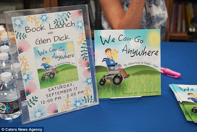 Glen has just released a children's book about his real-life adventures with Elaina to give hope to other parents with disabilities