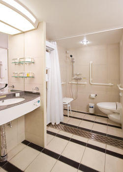Guide for disabled cruisers information spinal cord injury zone - Easily accessible bathroom designs guide ...