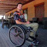 Jarrett Martin paralysed skydiver