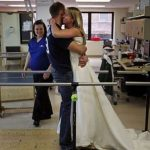 Hard work gets a paralyzed bride-to-be ready to walk down the aisle
