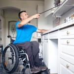 Kitchen remodeling for wheelchairs