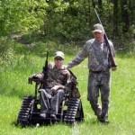 Kurt Johnston All-terrain Wheelchair