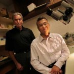 Neuroscientists Jerry Silver and Yu-Shang Lee
