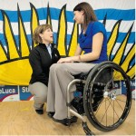 Paralympian turns politician