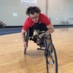 Paralympic athlete Josh Roberts.