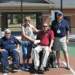 Paralyzed vets get chance to play ball