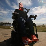 Perry Cross a C2 quadriplegic