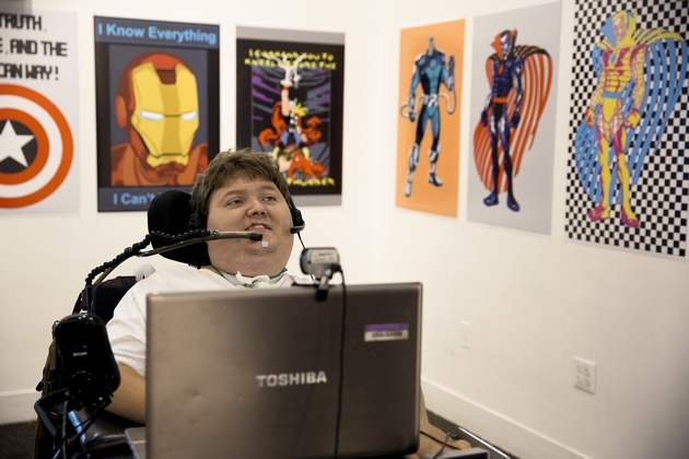 Quadriplegic Artist Tony Ramos Artwork
