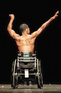 Quadriplegic bodybuilder Ernie Johnson