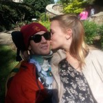 Quadriplegic leans on love to push forward