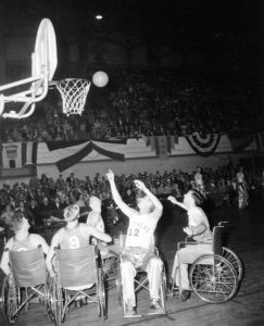 The Devils vs Oakland Bittners in 1947