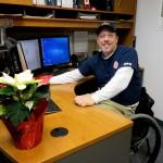 Volunteer Ed Faulds honored