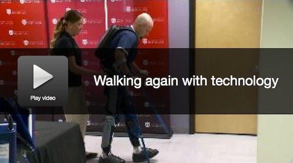 Walking Again With Technology