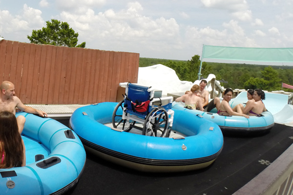 Wheelchairs at Disney Water Parks. 2jpg