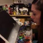 Artist, Painter and Paralyzed | Mariam Paré