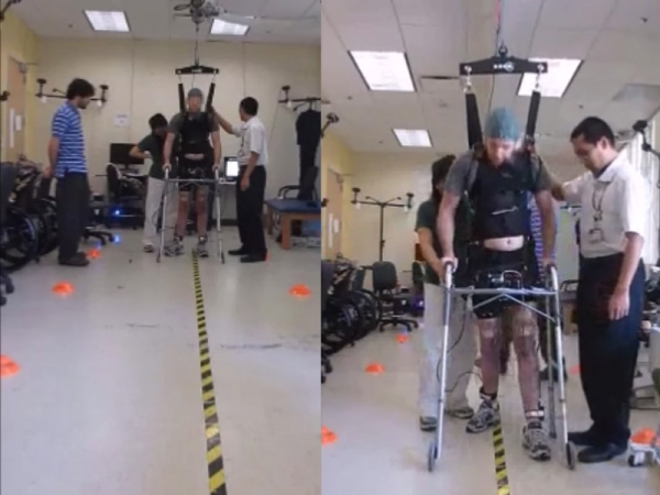 brain-controlled-walking-test