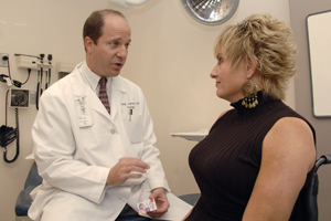 Dr. Gary Lemack talks with Lynette Kunz about a procedure to regain bladder control using Botox. Researchers are recruiting study participants for a Botox clinical trial investigating urological conditions.