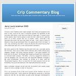 Crip Commentary Blog