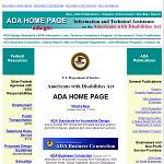 Americans with Disabilities Act  Home Page