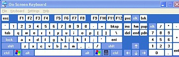On–Screen Keyboard