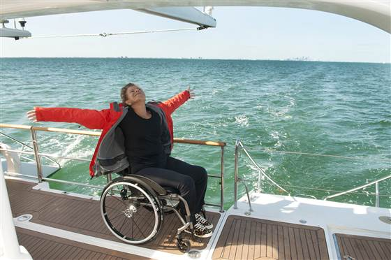 Ginny Dixon Deborah Mellen was one of 20 women with disabilities to pose for the project.
