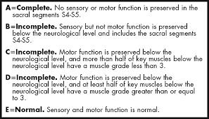 spinal cord injury severity