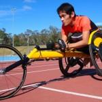 wheelchair racer Jonathan Tang