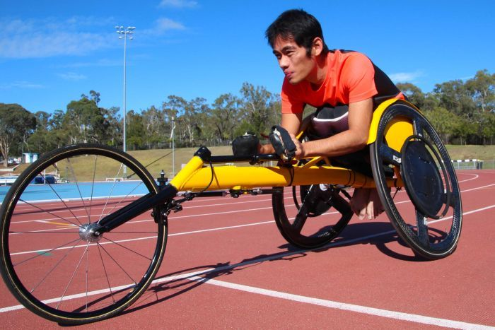 Spinal cord injury patient and wheelchair racer Jonathan Tang is a strong advocate for a national register.