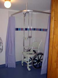 Ideas and instructions for building a handicapped for How to build a wheelchair accessible shower