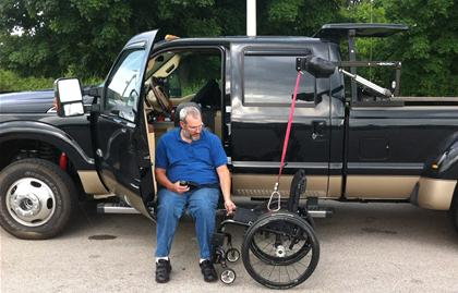 disabled vets get hot wheels despite their wheelchairs news spinal